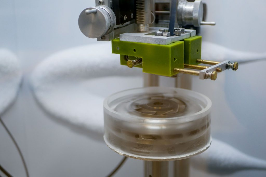 3D-utskrivna delar testas med is - Källa: University of Cincinnati